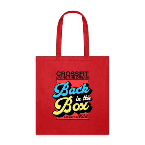 Back in the Box - Tote Bag