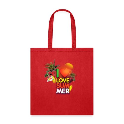 I love summer - Tote Bag