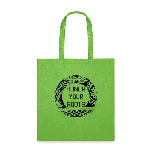 Honor Your Roots (Black) - Tote Bag