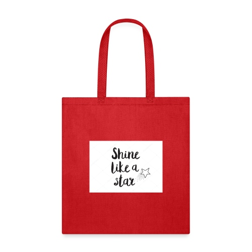 shine like a star - Tote Bag