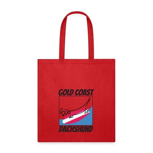 Gold Coast Dachshund - Tote Bag