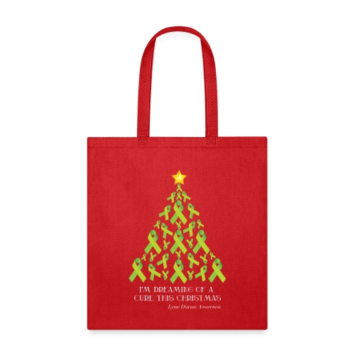 Lyme Free Christmas - Tote Bag
