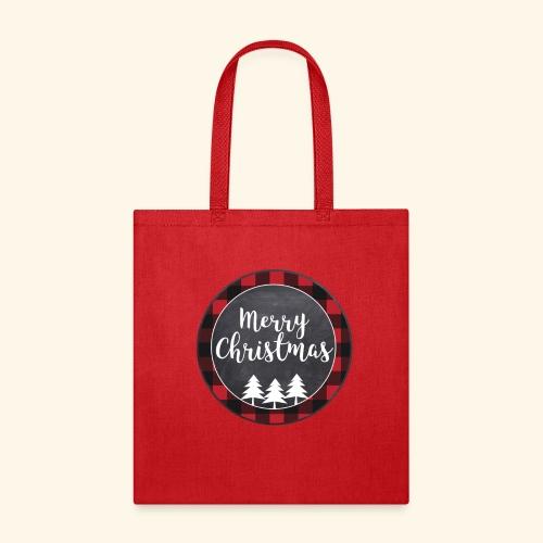 Merry Christmas Country Tee - Tote Bag
