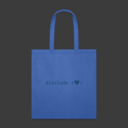 Blue Include Heart - Tote Bag