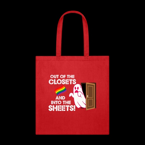 Out of the Closets Pride Ghost - Tote Bag
