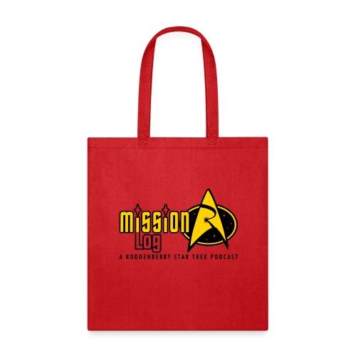 Logo Wide 2 Color Black Text - Tote Bag