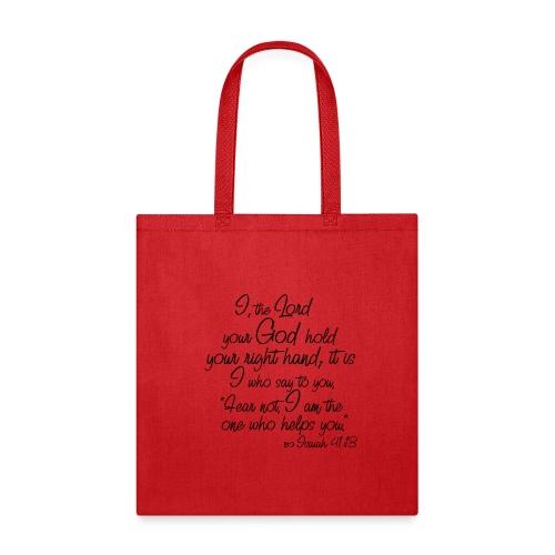 Isaiah 41 13 - Tote Bag