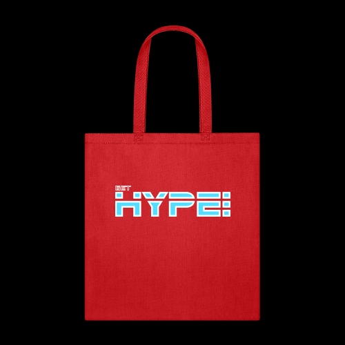 GET HYPED WITH SAKER!!! - Tote Bag