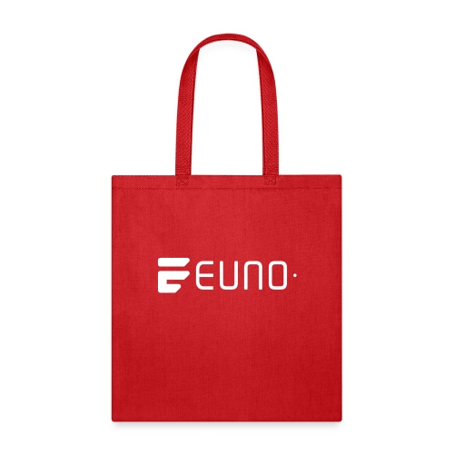 EUNO LOGO LANDSCAPE WHITE - Tote Bag