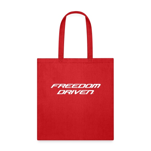 Freedom Driven Official White Lettering - Tote Bag