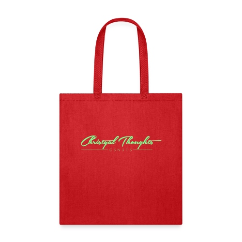 Christyal Thoughts C3N3T31 Lime png - Tote Bag