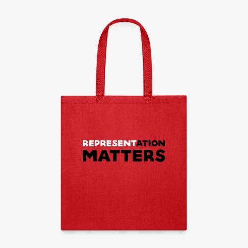 Representation Matters - White - Tote Bag
