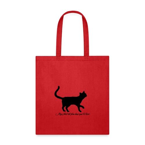 mon chat est plus doux que le tiens - Tote Bag