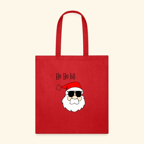 Christmas Santa HoHoHo design - Tote Bag
