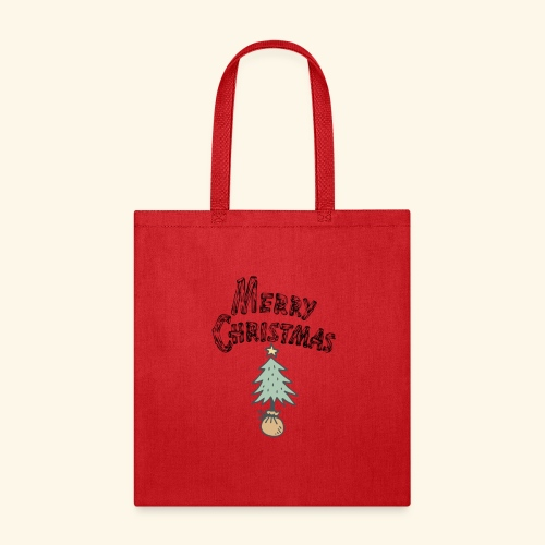 classic Christmas Tree Tee - Tote Bag