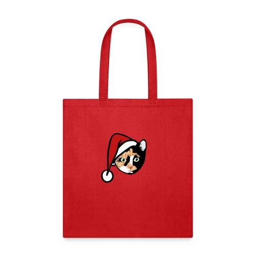 Calico Cat Santa - Tote Bag