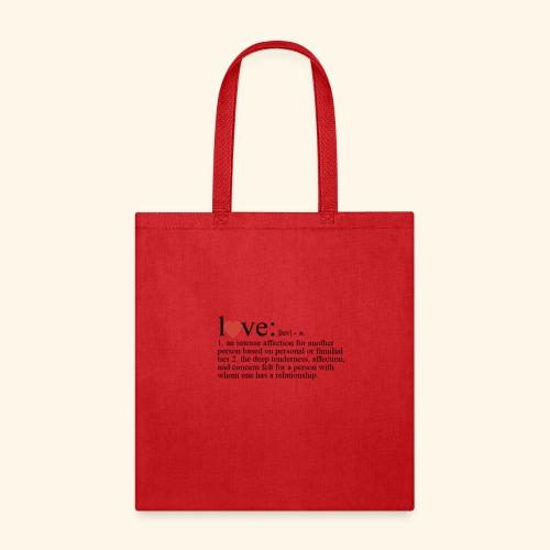 Love The Definition - Tote Bag