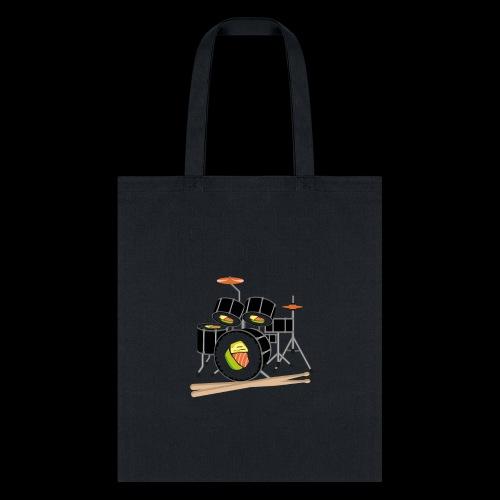 Sushi Roll Drum Set - Tote Bag