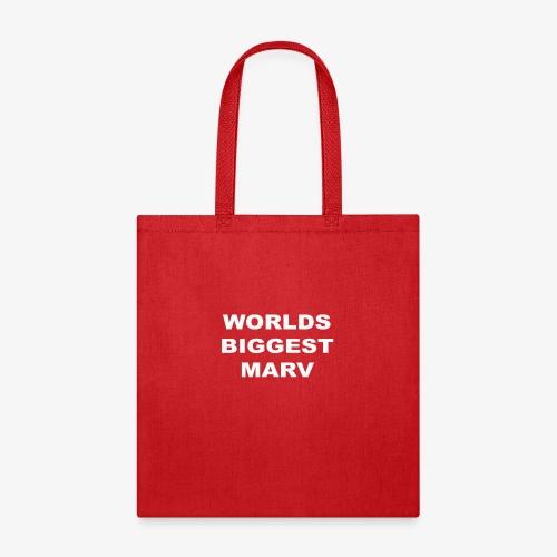 WORLDS BIGGEST MARV - Tote Bag