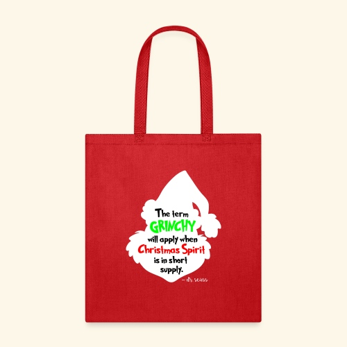 The Term Grinchy - Tote Bag