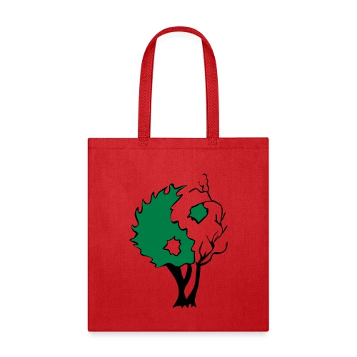 Yin Yang Tree - Tote Bag