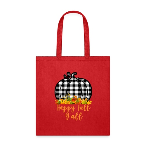 Happy fall yall - Tote Bag