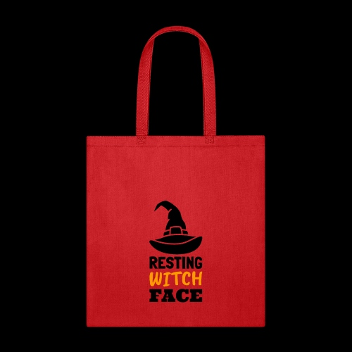 Resting Witch Face | Funny Halloween - Tote Bag