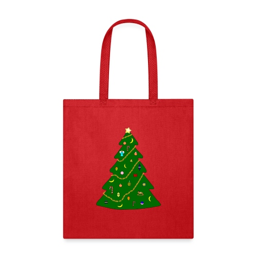 Christmas Tree For Monkey - Tote Bag