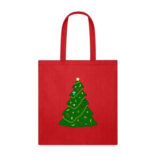 Christmas Tree For Monkey - Tote Bag