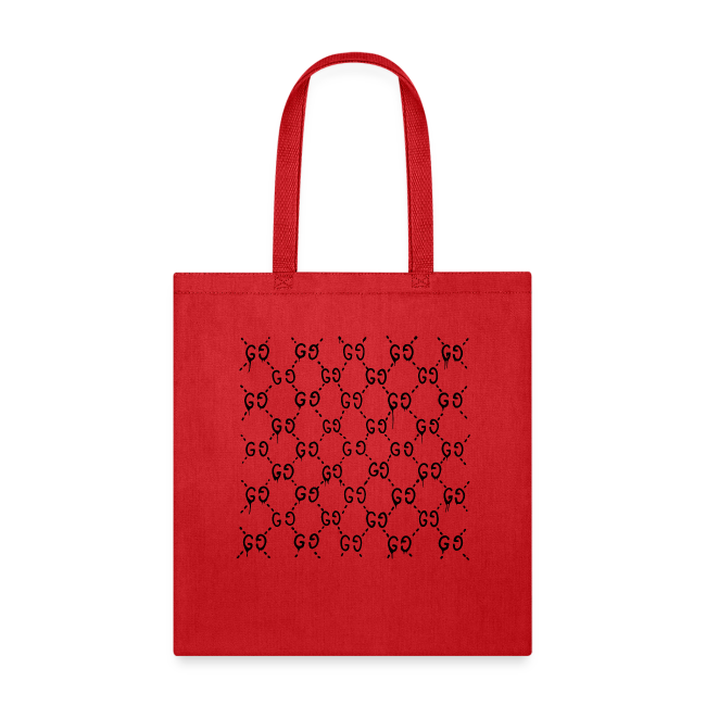 Dripping Gucci pattern