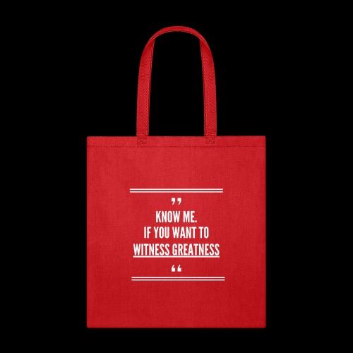 GREATNESS - Tote Bag