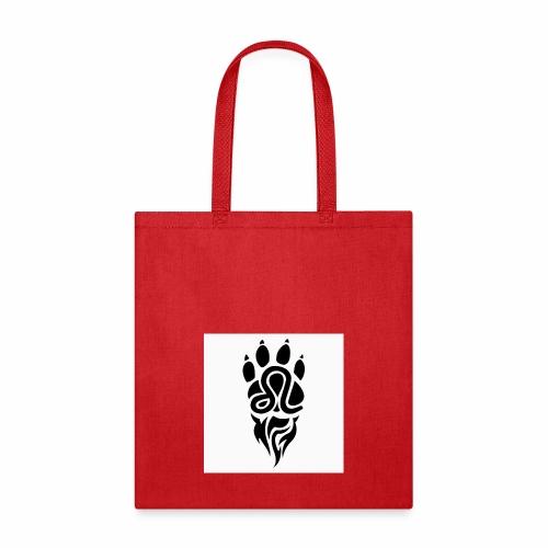 Black Leo Zodiac Sign - Tote Bag