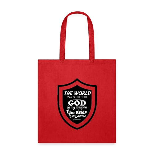 God is my Weapon - Tote Bag