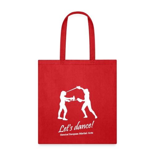 Let s dance white - Tote Bag