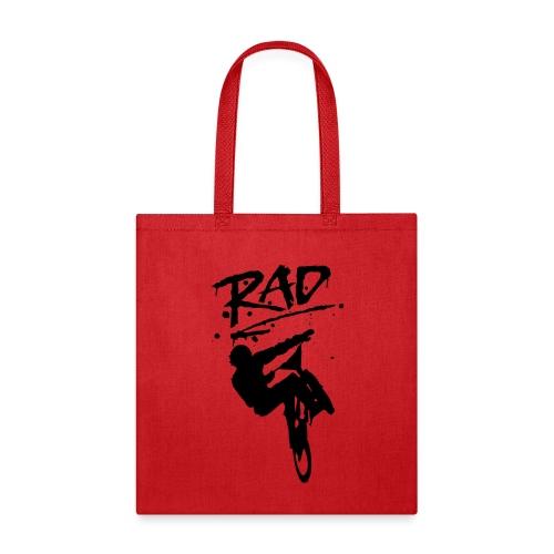 RAD BMX Bike Graffiti 80s Movie Radical Shirts - Tote Bag