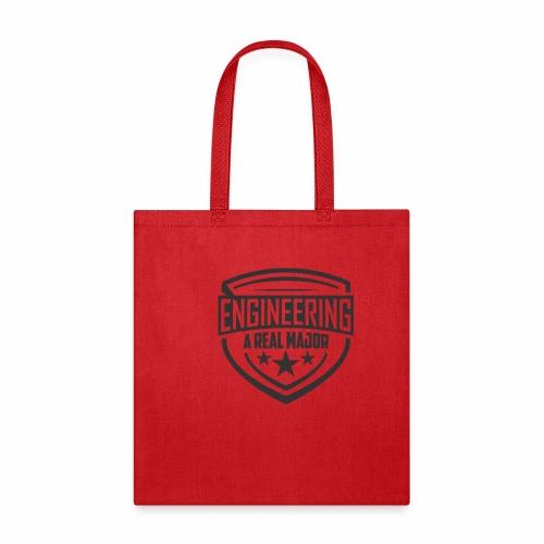 Engineering A Real Major Apparel - Shield Design - Tote Bag