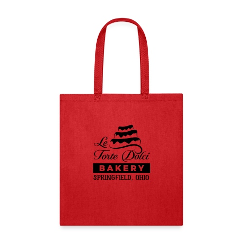 Le Torte Dolci Logo Solid Black Ink Version - Tote Bag