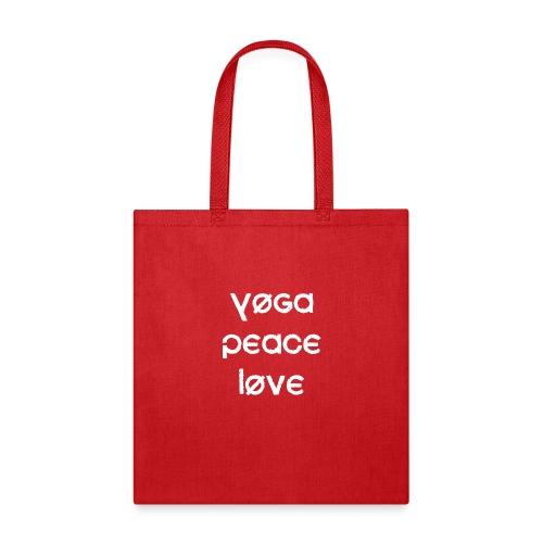 Yoga Peace Love - Tote Bag