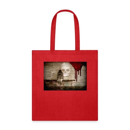 sad girl - Tote Bag