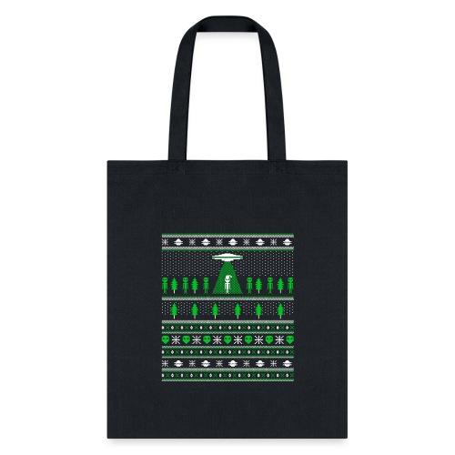 UFO ALIEN UGLY Christmas - Tote Bag