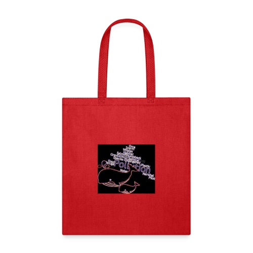 Whales swimming through pollution - Tote Bag