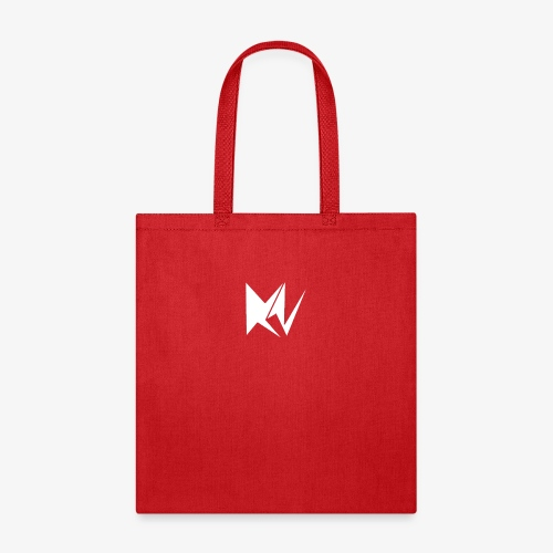 NK Transparent White Logo - Tote Bag