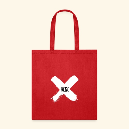 White X - Tote Bag