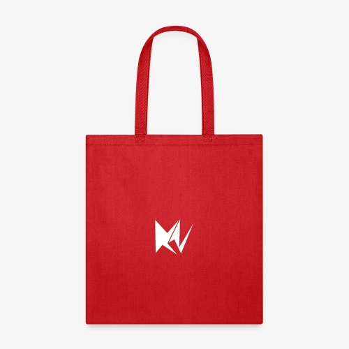 NK Transparent White Logo - Tote Bag