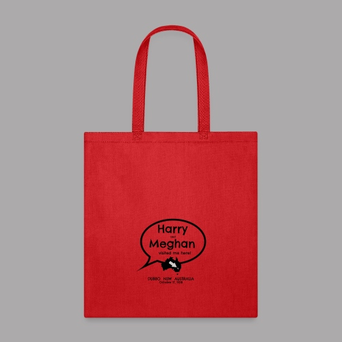 Prince Harry and Meghan Visit Dubbo - 17/10/2018 - Tote Bag