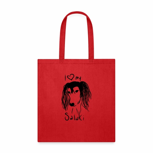 I love my saluki - Tote Bag