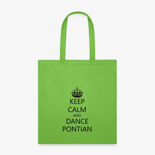 Keep Calm And Dance Pontian - Tote Bag