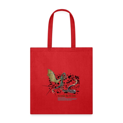 THE DRAGON AND THE SNAKE - Tote Bag