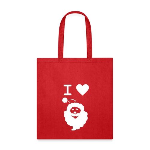I LOVE SANTA - Tote Bag