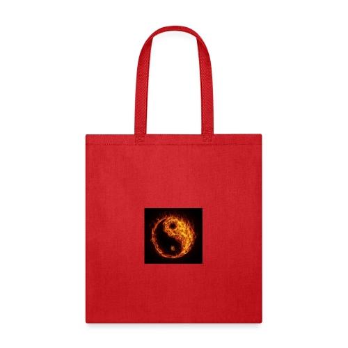 Panda fire circle - Tote Bag
